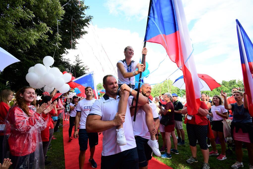 přivítání olympioniků s Vondroušovou (12)