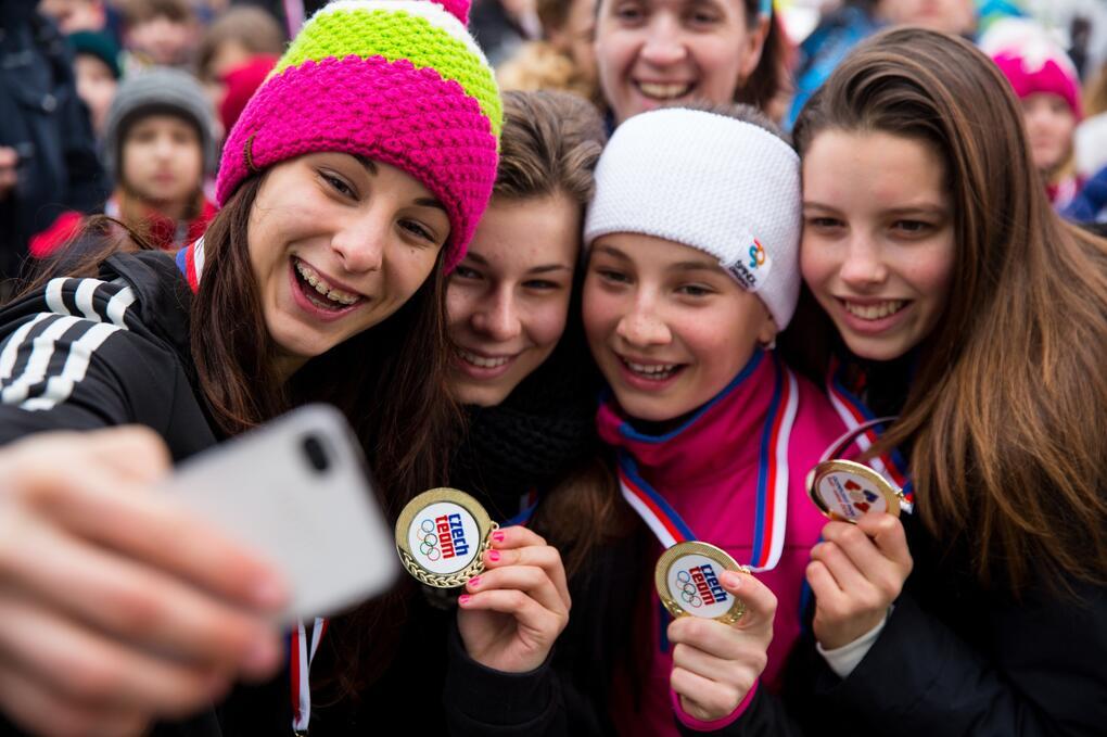 Hledáme dobrovolníky do Olympijských parků